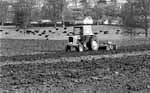 Ploughing and disking on the Abbey Farm